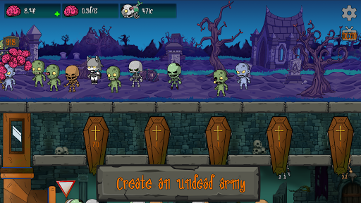 Code Triche Idle Graveyard - Zombies, Undead & Werewolves. AFK APK MOD (Astuce) screenshots 1