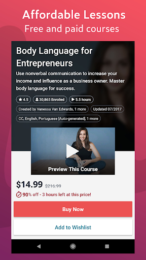 udemy - online courses screenshot 3