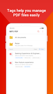 WPS PDF –  Free For PDF Scan, Read, Edit, Convert 1