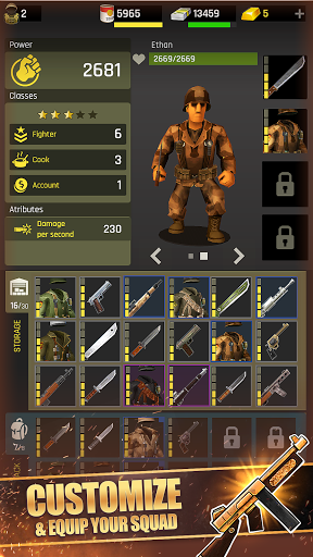 Last War: Shelter Heroes. Survival game android2mod screenshots 3