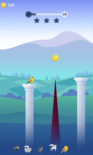 Bouncy Bird: Casual & Relaxing Flappy Style Game 1.0.7 screenshots 17