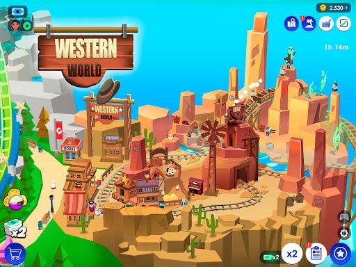 Idle Theme Park Tycoon - Recreation Game  screenshots 10