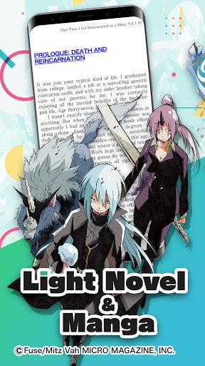 BOOKu2606WALKER - eBook App For Manga & Light Novels android2mod screenshots 1