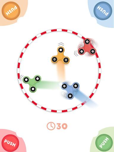 Hand Spinner / Fidget : 1 à 4 joueurs APK MOD – ressources Illimitées (Astuce) screenshots hack proof 1