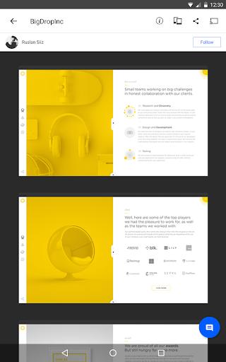 Behance: Photography, Graphic Design, Illustration 6.5.4 Screenshots 6