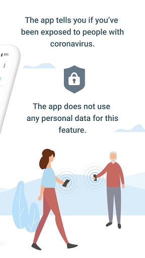 Corona-Warn-App screen 1