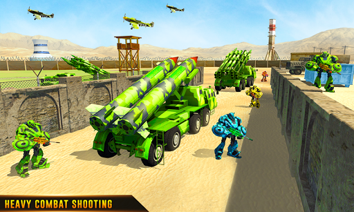 US Army Robot Missile Attack: Truck Robot Games 23 Screenshots 7