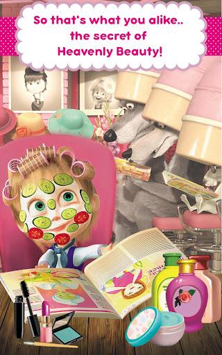 Masha and the Bear: Hair Salon and MakeUp Games apkpoly screenshots 20