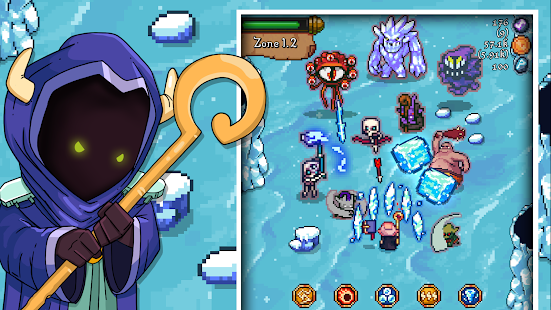 Tap Wizard: Idle Magic Quest Screenshot