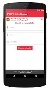 APSRTC APK Download For Android 3