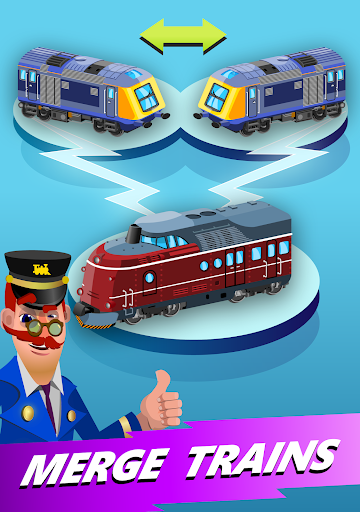 Train Merger - Idle Manager Tycoon  screenshots 15