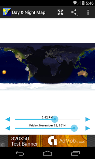 Day & Night Map 3.1 Screenshots 1