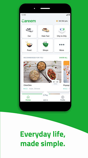 Careem - Rides, Food, Shops, Delivery & Payments android2mod screenshots 1