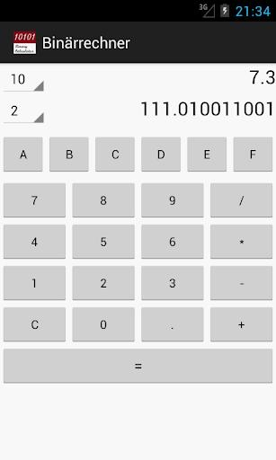 Binary Calculator For PC Windows (7, 8, 10, 10X) & Mac Computer Image Number- 7