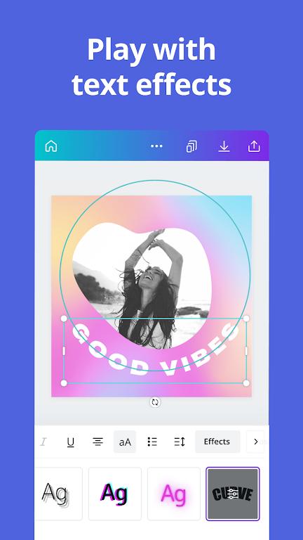 Canva: Graphic Design, Video Collage, Logo Maker poster 4