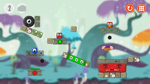 Monsterland 2. Physics puzzle game  screenshots 3