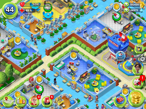 Dream Hospital - Health Care Manager Simulator apkpoly screenshots 14