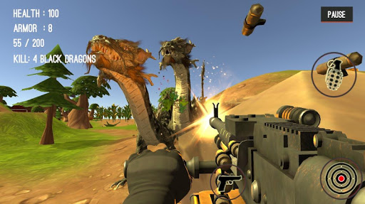Monster Killing City Shooting II  screenshots 21