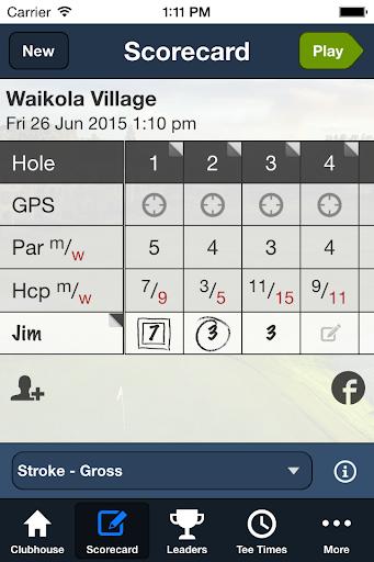 waikoloa village golf club screenshot 3