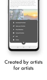 Art Portfolio Free: Create and style portfolios