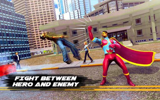 flying hero crime city theft screenshot 3