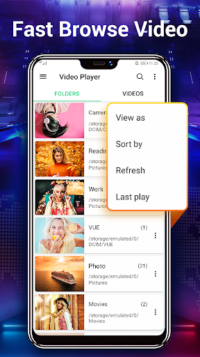 Video Player & Media Player All Format 1.9.2 Screenshots 4