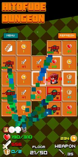 HITOFUDE DUNGEON APK MOD (Astuce) screenshots 2