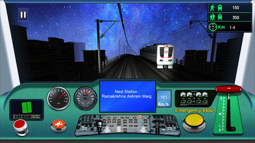 Indian metro train simulator  screenshots 1