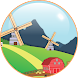 Toon Landscape Live Wallpaper - Androidアプリ