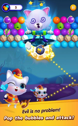 Bubble Shooter: Cat Island Mania 2020 apktram screenshots 1