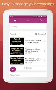 Karaoke: Sing & Record 8.4.1 Screenshots 11