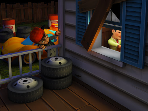 Angry Neighborhood Game screenshots 1