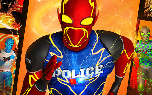 Top Speed Hero Police Robot Cop Gangster Crime 3.2 screenshots 5