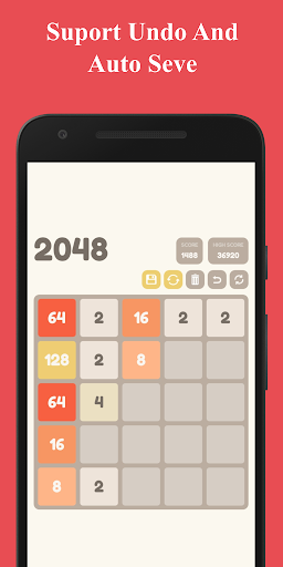 Number Puzzle:  2048 Puzzle Game 2.7.5 screenshots 4