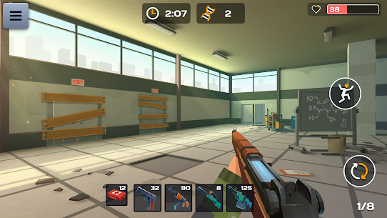 4 GUNS: Online Zombie Survival Mod Apk 1.04 (God Mode) 2