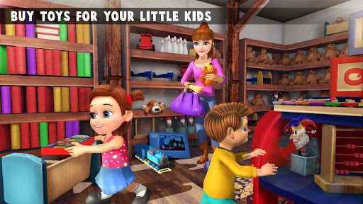 Virtual Mother New Baby Twins Family Simulator  screenshots 7