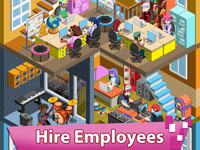 Video Game Tycoon - Idle Clicker & Tap Inc Game 3.3 Screenshots 2
