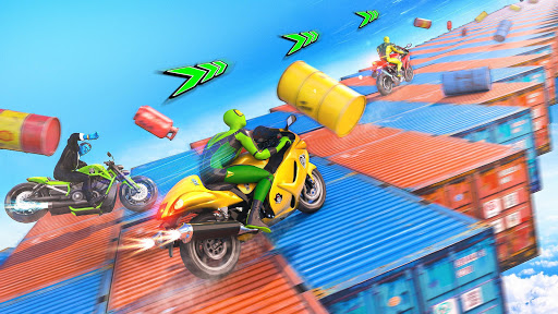 Mega Ramp Motorbike Impossible Stunts screenshots 21