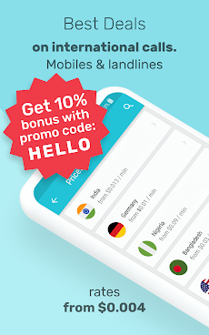 International Calling App - Yollaのおすすめ画像1