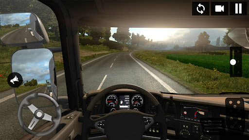 American Truck Driving Simulator: Cargo Truck Game  screenshots 14