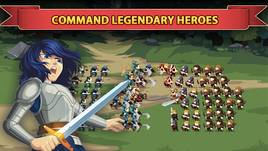 Knights and Glory – Tactical Battle Simulator Mod Apk (Auto Win) 1