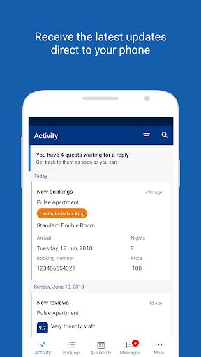 Pulse for Booking.com Partners 17.3.3 Screenshots 1