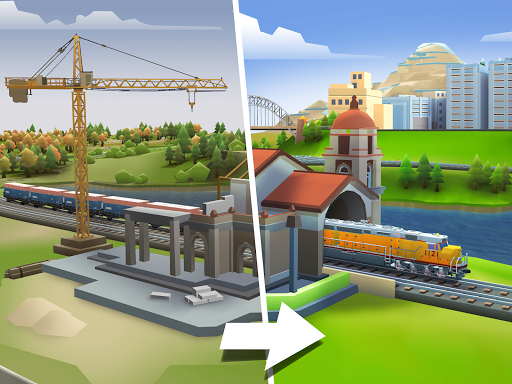 Train Station 2: Railroad Tycoon & City Simulator screenshots 1