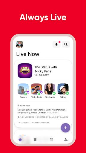 Airtime   A live social space  Screenshots 3