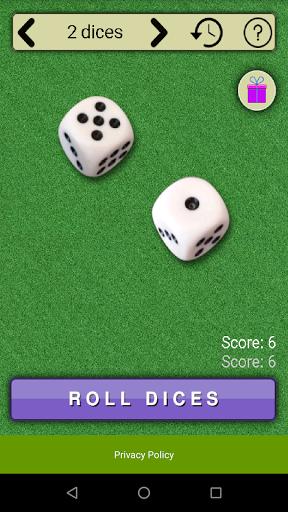 virtual dices screenshot 2