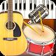 Band Live Rock (Tamburo, piano,chitarra,basso,mic) per PC Windows
