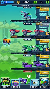 Idle Space Tycoon MOD APK 1.5.3 (Unlimited Credits) 1