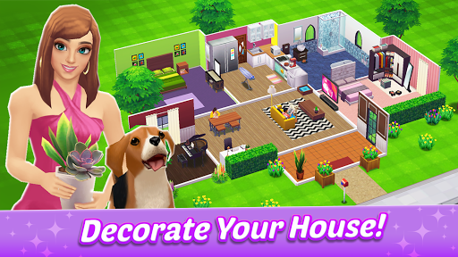 Home Street u2013 Home Design Game apkslow screenshots 6