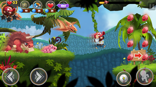 Super Jungle Jump apkdebit screenshots 1