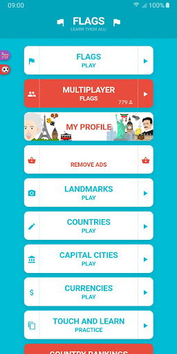 Flags and Capitals of the World Quiz screenshots 1